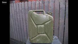 Petrol/ Diesel Fuel Can (25lt)
