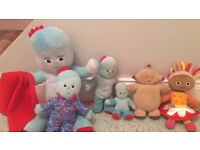 In the night garden bundle of soft toys
