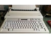 Open to any offers. Vintage Olivetti electronic typewriter