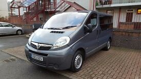 Vivaro 1.9 Minivan 9 seats, Bluetooth, DVD front and rear,eletric windows,rear parking sensir,£8499