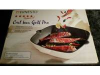 Cast Iron Grill Pan - brand new in box