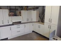 Ex display solid painted kitchen