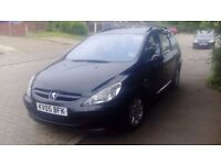 Peugeot 307 s estate sell or swap