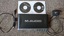 M-Audio Fast Track Ultra - High-Speed 8x8 USB 2.0 Interface. Immaculate condition!