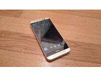 HTC One M9, colour silver