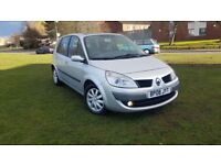 RENAULT GRAND SCENIC 1.6 VVT DYNAMIQUE PANORAMIC SUNROOF HPI CLEAR DRIVES EXCELLENT.