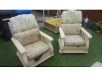 Garden furniture. 2 seater sofa and 2 single seats