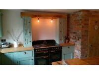 Handmade Solid Wood Free Standing Bespoke Kitchens