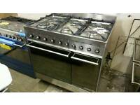 Smeg 90cm dual fuel range cooker only used a couple of times