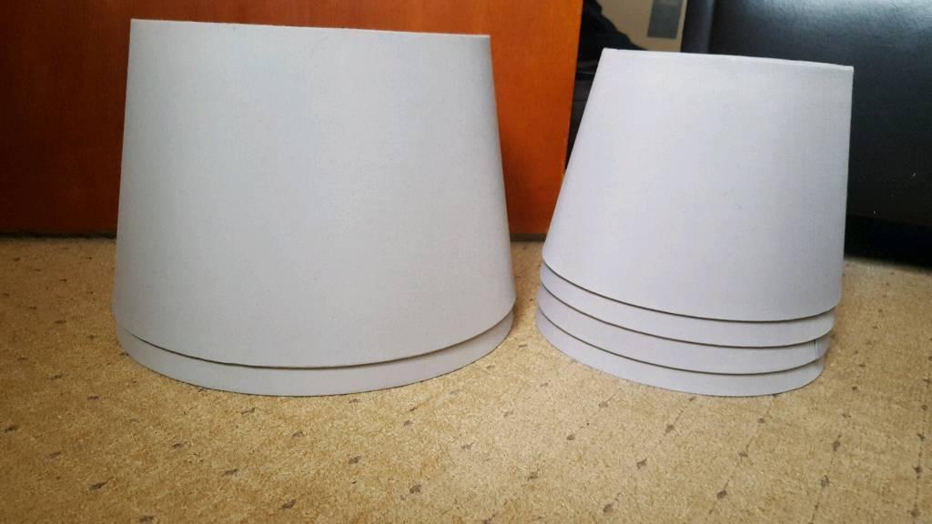 IKEA Lamp Shades 33cm 44cm x6