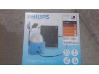 Philips Solar Lantern Light for Camping Tent has Battery Pack for Phone Charger