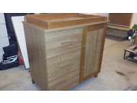 Cot Bed & Cabinet
