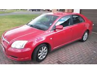 Toyota Avensis 1.8l Petrol , 2005, Relatively Low Mileage, Good Condition
