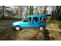 RENAULT KANGOO AUTHENTIQUE AUTOMATIC. LOW MILEAGE.12 MONTHS MOT. WHEELCHAIR CONVERSION.FOLDING RAMP.