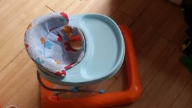Baby walker . Slight fault