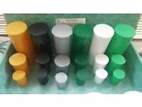 13dram (1-2g/50ml SMELLPROOF MEDICAL HERB & MEDICATION TUBS