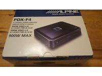 Alpine PDX F4 4-Channel Car Amplifier