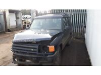 LAND ROVER DISCOVERY 300 TD ENGINE GEARBOX BREAKING PARTS