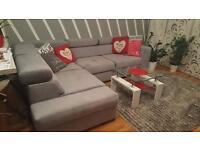 Corner sofa beds - grey