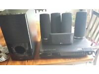 LG - DVD surround system