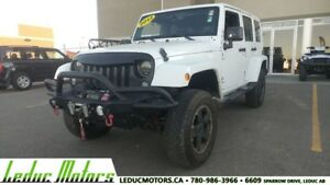 2013 Jeep Wrangler Sahara UNLIMITED 4X4 SUV WINCH