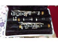1970s buescher aristocrat b flat clarinet