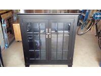 Black cabinet - solid wood