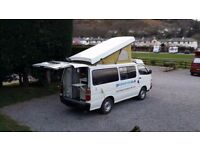 Toyota Hiace Auto Campervan For Sale