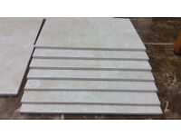 Jonson.Tiles Glazed wall tiles 30x20 in cream with white boxed