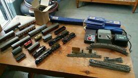 1950s hornby dublo 3 rail train set