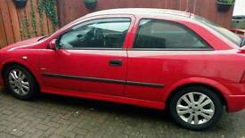 2002 Vauxhall Astra 1.6 3dr