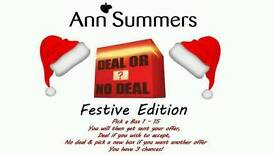 Deal or no deal ann summers style