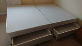 Silent Night Double Bed 4 Draw Divan