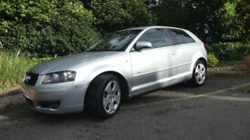 Audi A3 3.2 - S Line DSG Quattro 3dr with Private Plate. Full Service & 10 Months MOT Mint Condition