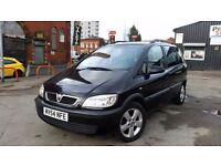 Vauxhall Zafira Diesel Low Warrented Miles Hpi Clear 11 Months MOT 7 Seater Clean Condition Bargin