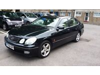 LEXUS 300 GS 2001 SPARES OR REPAIR STARTS AND DRIVES MOT HPI CLEAR