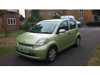 daihatsu siron 1.3PETROL 2006 green air conditioning PERFECT FIRST CAR
