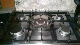 Siemans 5 burner gas hob and extractor fan