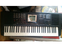 Yamaha PSR 530. Good conditions. Power supply cable and transformer included. Can play on batteries