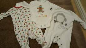 Up to 3months Christmas clothing