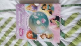 Disney Books for girls and Cd for sale