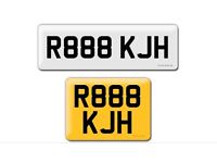 R888 KJH Chinese lucky 888 private cherished personalised personal registration plate number