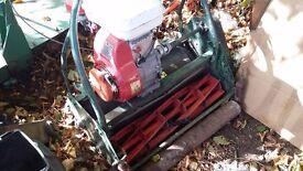 Honda ransomes petrol cylinder mower