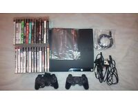 Sony Playstation 3 PS3 Slim 250GB + 26 Games – Boxed!!