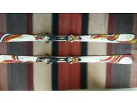 Woman's K2 burning' luv ski's, 170cm long