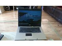 Acer Travelmate 4230 Laptop, HDD 120GB, Ram 2GB, Internet Ready
