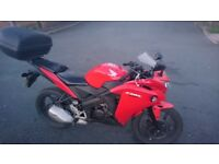 Honda CBR 125 2014 very good condition, learner legal, delivery available