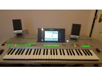 Yamaha Tyros 2 with Tyors 5 speakers