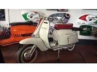 Lambretta li150 servta fully restored
