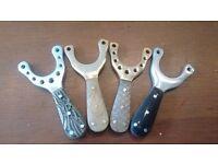 Brass alloy & chrome catapults